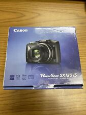 Canon PowerShot SX130 IS 12.1MP 12x Zoom Digital Camera - *NICE* (SEE PICTURES)
