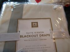 2 Pottery Barn Suite drapes panels  blackout gray grey  new with tag