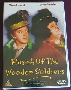 Laurel and Hardy - March Of The Wooden Soldiers ( Babes In Toyland) DVD