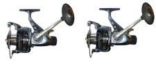 2 mulinelli da pesca carpfishing sensor 6000 carp fishing carpa doppia frizione