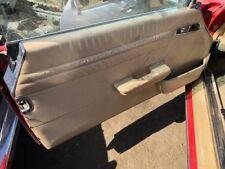 72-89 Mercedes R107 450SL 560SL Front Left Side Interior Door Panel Tan OEM