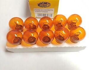 10X Indicator Repeater Light Orange Bulbs PY21W 12V 21W BAU15S