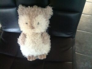 """Jellycat Owl """"i am little Owl"""" Soft Plush Toy Suitable from Birth Retired Baby"""
