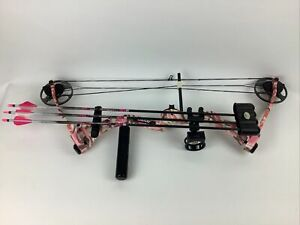 Bear Apprentice 2 Youth Ready To Hunt Bow Pink Camo Right Hand