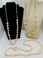 Shell Necklace, Lot of 3, Vintage,Cowrie