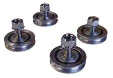 "4Pcs Carriage Tray Wheels 1-3/8"" For Husqvarna Tilematic Target/Felker Tile Saw"