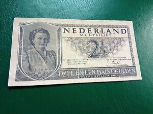 Netherlands -  2 1/2 1949  Gulden  - Banknotes