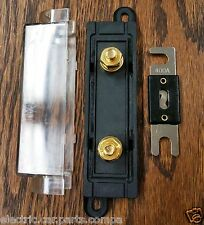 400A ANL - Qty 1 Fuse & Qty 1 Fuse Block -- USA Stock! -- New! -- Fast Shipping!