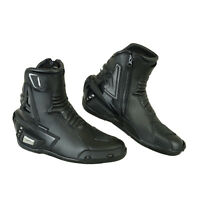 ProFirst Motorbike Motorcycle Leather Waterproof Protection Boots Racing Shoes