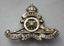Canadian Army, WWI Era, Royal Canadian Artillery Cap Badge. Canada.