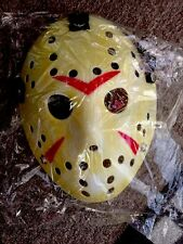 Jason VOORHEES MASCHERA Spaventosa Prop Hockey Halloween Creepy MASCHERA friday13th spaventosa SEGA
