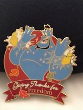 Disney Auctions - Giving Thanks (Genie - Freedom) Limited - Pin
