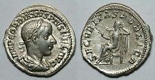 IMPERIO ROMANO.   GORDIANO III.  DENARIO.  ROMA.    EBC