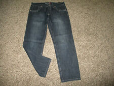 NEW MENS SOUTH POLE LOOSE FIT STRAIGHT LEG JEANS sz 42 LONG / 42x34 NWT
