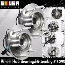 1 Pair Front Hub&Bearing Assembly for 06-10 Hummer H3 w/ABS 515093