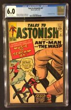 TALES TO ASTONISH #47 Comic CGC 6.0 Marvel 1963 Silver Age 1ST APPEARANCE TRAGO