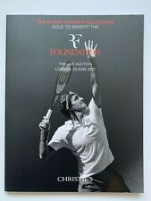 **ROGER FEDERER TENNIS COLLECTION LIVE AUCTION CHRISTIES BOOK 2021**