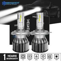 2PC H4 LED Fits TOYOTA Hilux Landrcruiser Prado SR SR5 Headlight Bulbs Globes AU