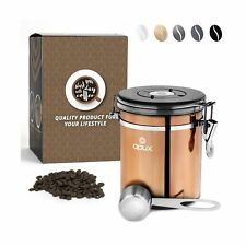 OPUX Coffee Canister | Coffee Jar, Airtight Coffee Bean Container with Vacuum...