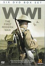 WWI The First Modern War History Channel 6 DVD Box Set PAL Region 0 [DVD]