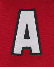 ALTERNATE CAPTAIN A PATCH FOR CHICAGO BLACKHAWKS HOME JERSEY
