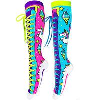 MADMIA Girls Knee High Socks UNICORN Long Cute Funny Colourful Bright