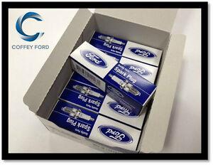 6 x Genuine Ford Spark Plugs. Falcon BF/FG LPG. AGSP22YE07. Gas. Iridium. DENSO