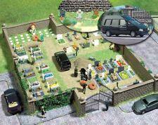 SH   Busch 6049 Bausatz für einen Friedhof.