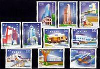Macau Macao 1998-99, Definitives Stamp set MNH
