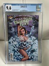 DANGER GIRL #2 CGC 9.6 J Scott Campbell 1998 Image/Cliffhanger Comics
