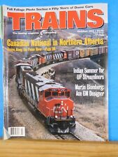 Trains Magazine 1994 October Canadian National in N Alberta Dome cars 50 yrs