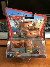 DISNEY Pixar Cars 2 RACE TEAM MATER-SIGILLATO BLISTER