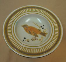 Vintage Danish Haunso Keramik Ceramic Collector Plate Oriole Bird on a Branch