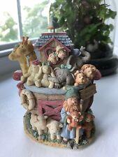 """San Francisco Music Box Company Noah's Arc """"Circle of Life"""""""