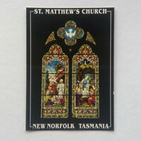 St Matthew's Church New Norfolk Tasmania Postcard (P347)