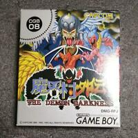 Makaimura Gaiden: The Demon Darkness GameBoy GB Capcom Used Japan Boxed Working