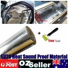Auto SE Heat Noisy Insulation Foam 6MM + Sound Deadener Rolling Wheel Tool Kit