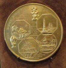 ancienne medaille bronze doré monnaie de paris medailles et jetons du XIXe