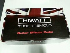 Hiwatt tube tremolo pedal 12ax7 tube 18v
