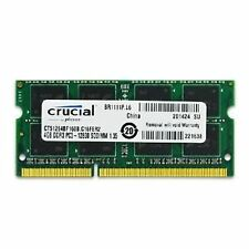 4GB RAM DDR3 12800S PC3L 1600MHz Crucial SO-DIMM 4 GB Laptop * Free Shpping