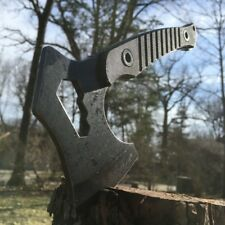"8.25"" MTech EXTREME SURVIVAL CAMPING AXE BATTLE Hatchet Hunting Knife Tactical"