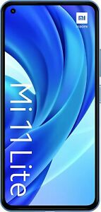 "Xiaomi 11 Lite 6GB 128GB Smartphone NFC 64MP Camera Snapdragon 732G 6.55"" Blue.."