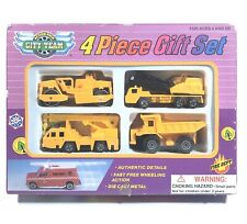 Real Toy Construction Die Cast 4 Piece Gift Set No 238W