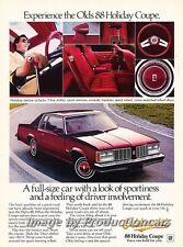 1979 Oldsmobile Delta 88 Holiday Original Advertisement Print Art Car Ad J744