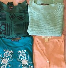 Womens Juniors Mixed Xlotjing Lot, Liz Claiborne, Pineapple Moon, Size Small