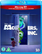 Monsters Inc 3D+2D Blu-RAY NEW BLU-RAY (BUY0192401)
