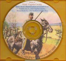 Ninth Virginia Cavalry History + Bonus Book