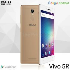 BLU VIVO 5R 4G LTE 32GB 5.5 3GB RAM Android 6.0 GSM Unlocked V0090U Gold New