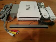 Nintendo Wii White Console Complete (Backwards Compatible) CLEANED & TESTED