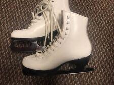 Riedell Ice Skates Sheffield Blade 3 1/2 white Women